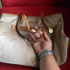Large Michael Kors my lawn bag